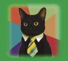 Business Cat Baby Tee