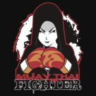 Muay Thai Girl Fighter by spikeani