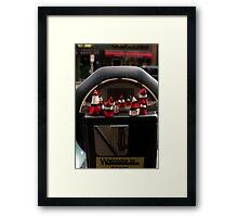 Parking Meter Framed Print