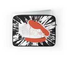 Louboutin mens sneakers with blood and spatters Laptop Sleeve