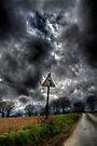 Bend in the Road by Nigel Bangert