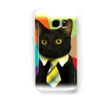 Business Cat Samsung Galaxy Case/Skin