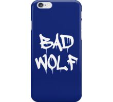 Bad Wolf-Blue iPhone Case/Skin