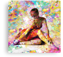 Ballerina in Repose by Mark Compton Canvas Print