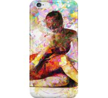 Ballerina in Repose by Mark Compton iPhone Case/Skin