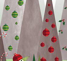 Christmas Mountain III by Shiloh Longbottom