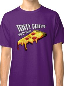 Trippy Drippy Pizza Shop Classic T-Shirt