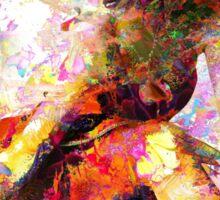 Ballerina in Repose by Mark Compton Sticker
