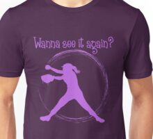 Wanna See It Again? lavender Unisex T-Shirt