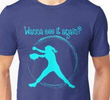 Wanna See It Again? lt.blue Unisex T-Shirt