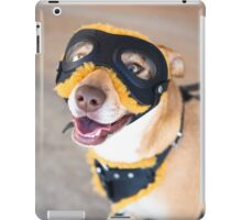 Biker Dog *PROCEEDS TO CHARITY* iPad Case/Skin