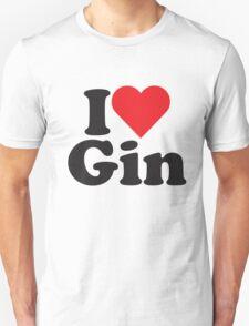 I Heart Love Gin T-Shirt