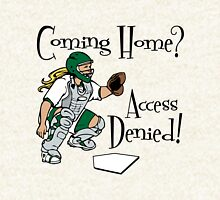 Access Denied, green Hoodie