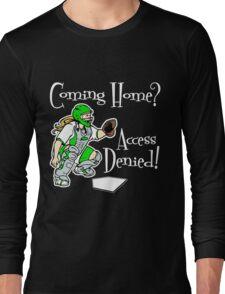 Access Denied, green2 Long Sleeve T-Shirt