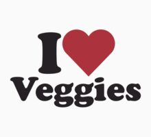 I Heart Love Veggies by HeartsLove