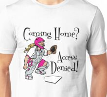 Access Denied, pink Unisex T-Shirt