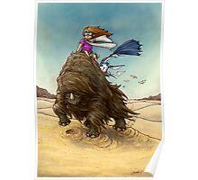 The Desert Wind Poster