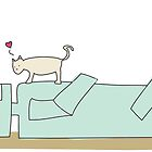 A Cat and Robot in Love by Kate Foray