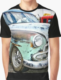 Classic American Hot Rod Graphic T-Shirt