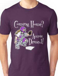 Access Denied, purple2 Unisex T-Shirt