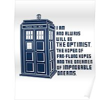 Doctor Who The Optimist Poster