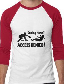 Access Denied2 , black Men's Baseball ¾ T-Shirt