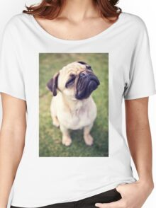 Cheesy Smile Pug *PROCEEDS TO CHARITY* Women's Relaxed Fit T-Shirt
