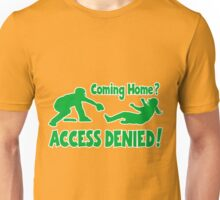 Access Denied2 , green Unisex T-Shirt