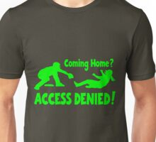 Access Denied2 , neon green Unisex T-Shirt