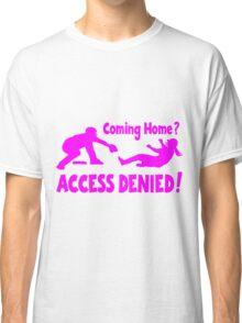 Access Denied2 , pink Classic T-Shirt
