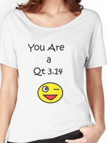 Qt 3.14 Women's Relaxed Fit T-Shirt