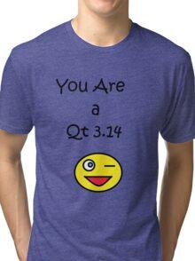 Qt 3.14 Tri-blend T-Shirt