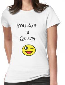 Qt 3.14 Womens Fitted T-Shirt