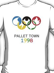 Pokemon Olympics Pallet Town 1998 T-Shirt