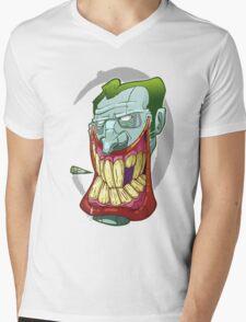 Smokin Joker Mens V-Neck T-Shirt