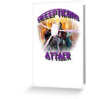 Decepticon's Attack! Greeting Card