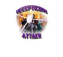 Decepticon's Attack! Photographic Print