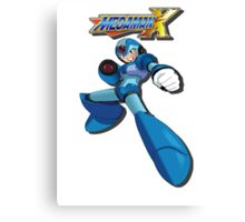 Mega Man X Canvas Print