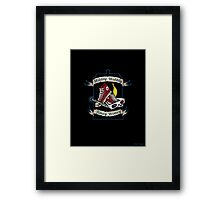 Tenth's Timey Tools Framed Print