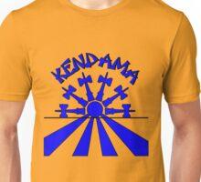 Kendama Sun, blue Unisex T-Shirt