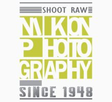Nikon Photography One Piece - Short Sleeve