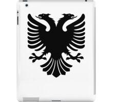 Albanian two headed eagle sigil iPad Case/Skin