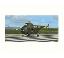 Sikorsky H-19 Chickasaw Art Print