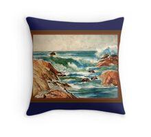 California North Coast Throw Pillow