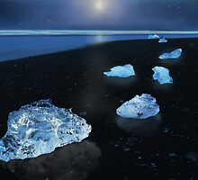Beached Bergs by Peter Hammer