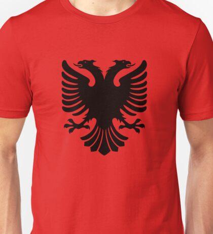 Albanian two headed eagle sigil Unisex T-Shirt