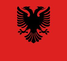 Albanian two headed eagle sigil Unisex T-Shirt