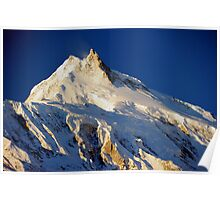 Early morning light - Mount Manaslu - 8156 metres  Poster