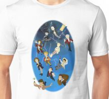 All the Doctors in the Vortex Unisex T-Shirt