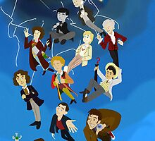 All the Doctors in the Vortex by Kileigh Gallagher